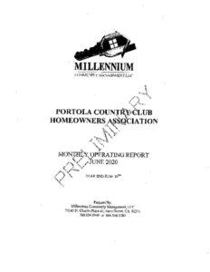 thumbnail of June 2020 Board financials